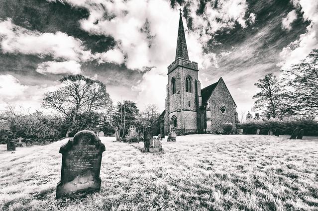 A Suffolk churchyard