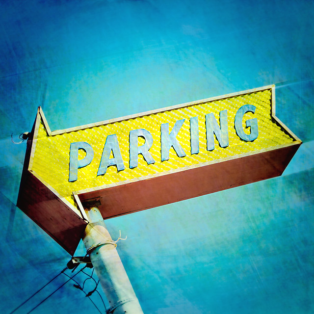 parking / prcssd. los angeles, ca. 2014.