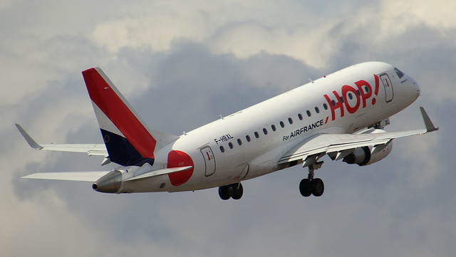 HOP!, F-HBXL, MSN 170000009, Embraer ERJ 170-100LR, 27.03.2021, HAM-EDDH, Hamburg
