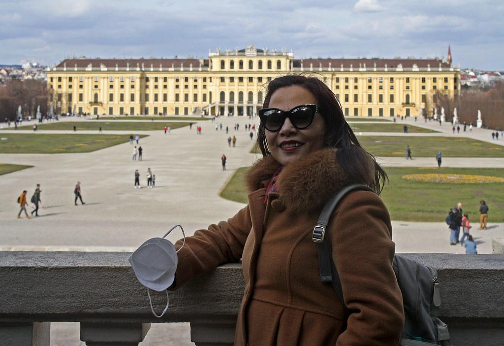 Lihua in Schönbrunn