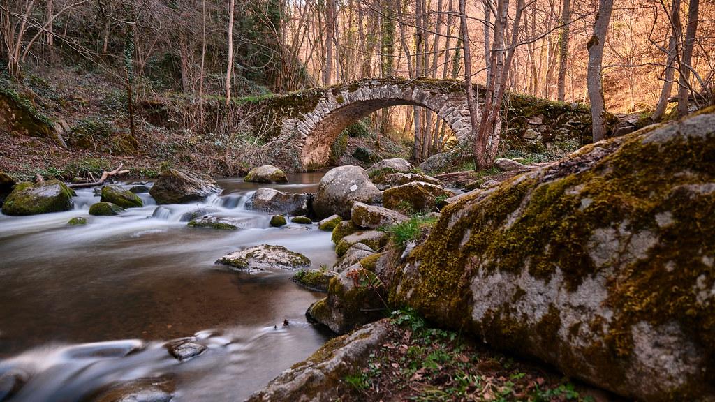 Pont de Ribeyrolles Gorges de la Monne
