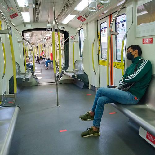 LRT ride KL