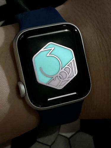 Apple Watch achievement badge
