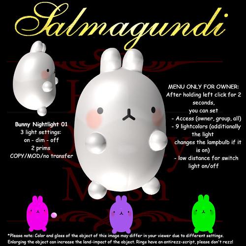 FREE GROUPGIFT: Bunny Nightlight 01