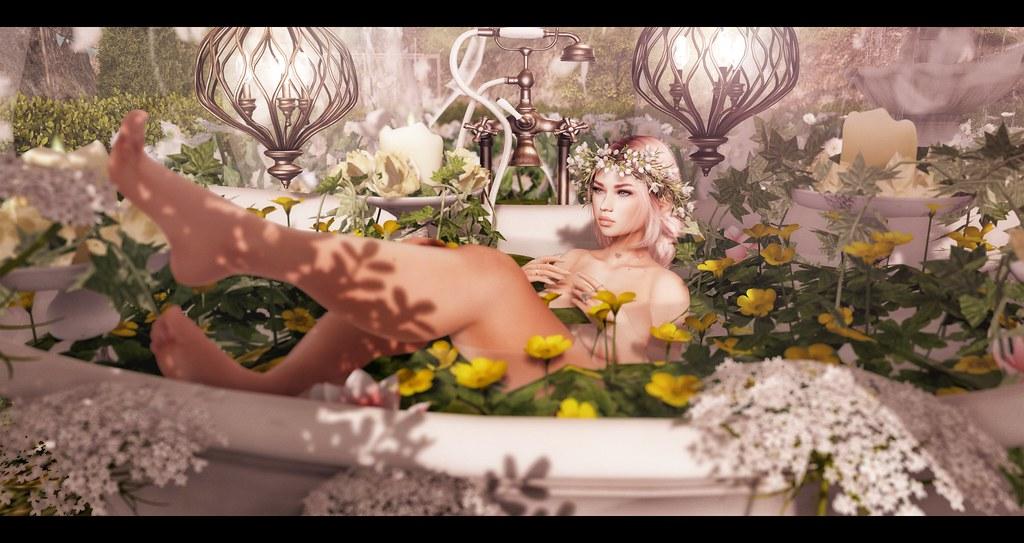 Floral Bath.