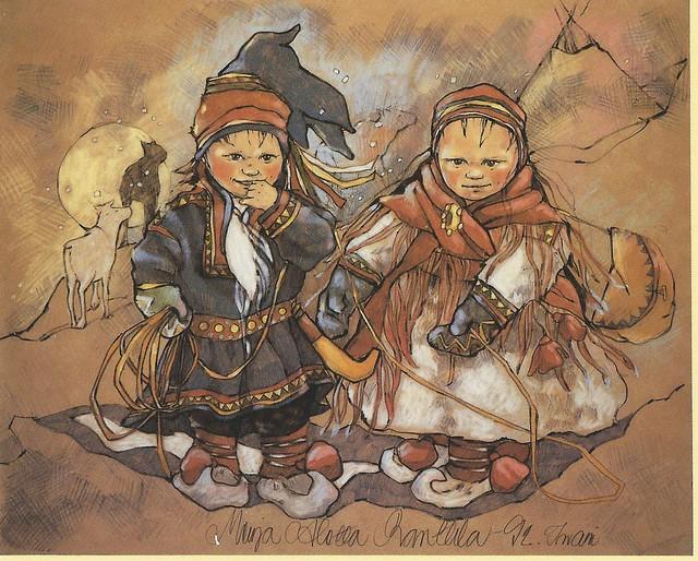 Merja Aletta Ranttila: children from Lapland