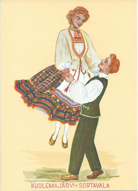 Finnish national dress: Kuolemajärvi-Sortavala