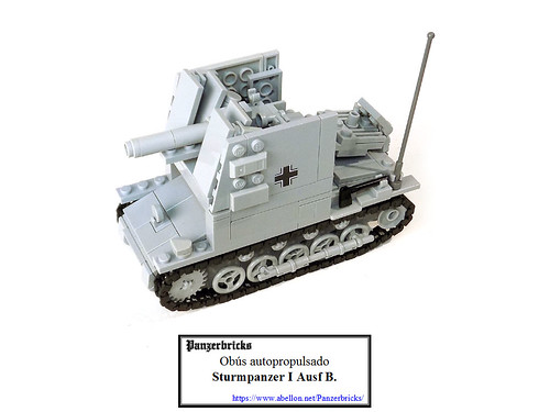 Sturmpanzer I Ausf. B de Panzerbricks