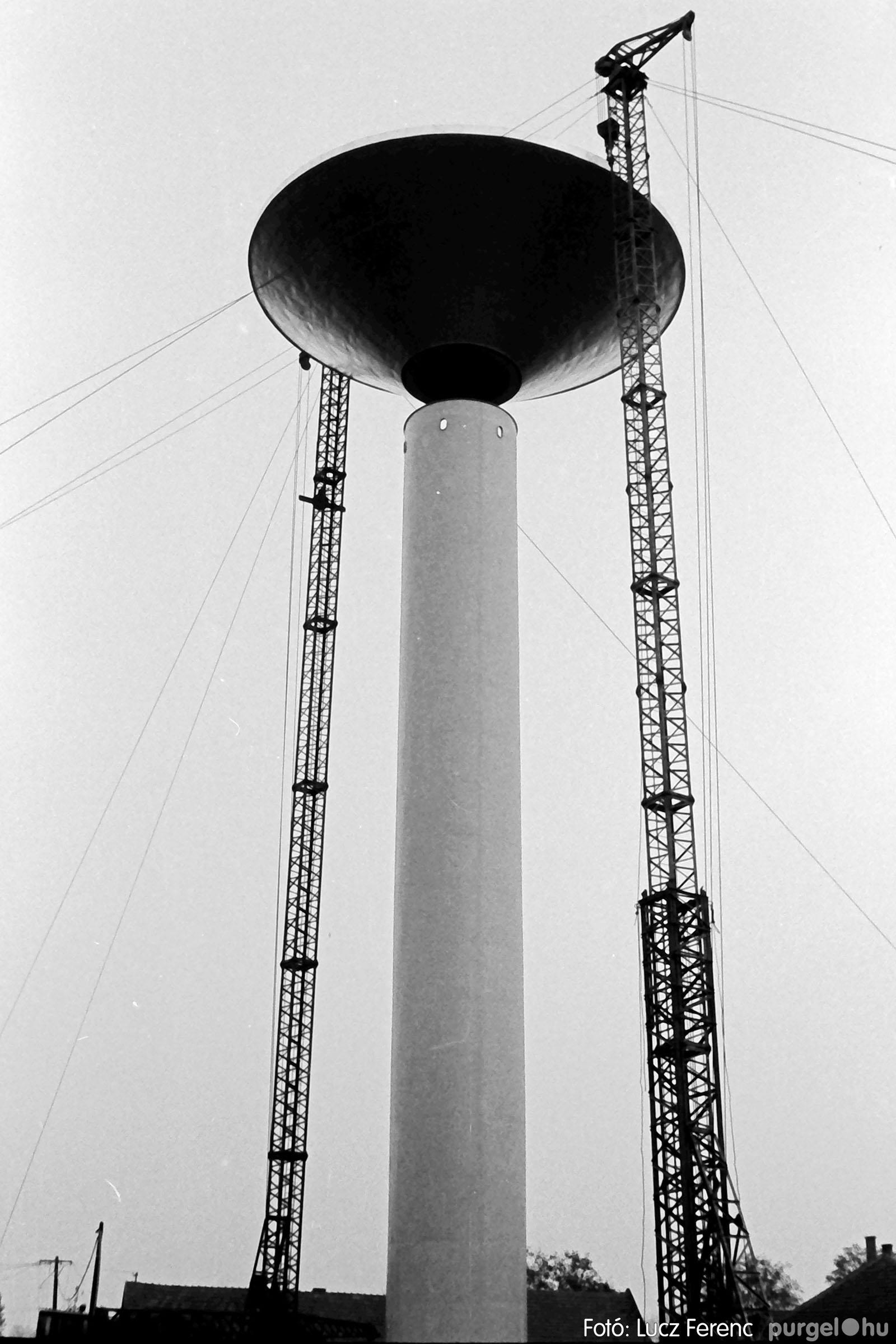122A. 1978. Épül a víztorony 035. - Fotó: Lucz Ferenc.jpg