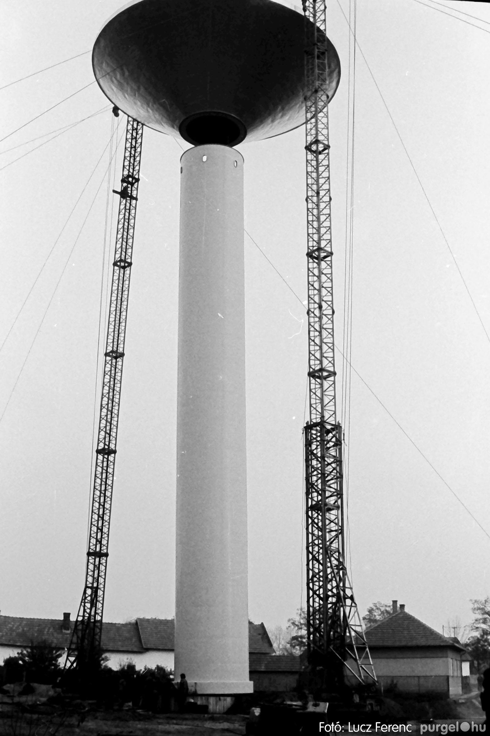 122A. 1978. Épül a víztorony 034. - Fotó: Lucz Ferenc.jpg