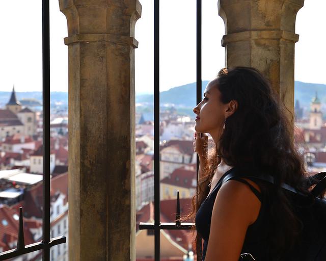 Mirador del ayuntamiento de Praga