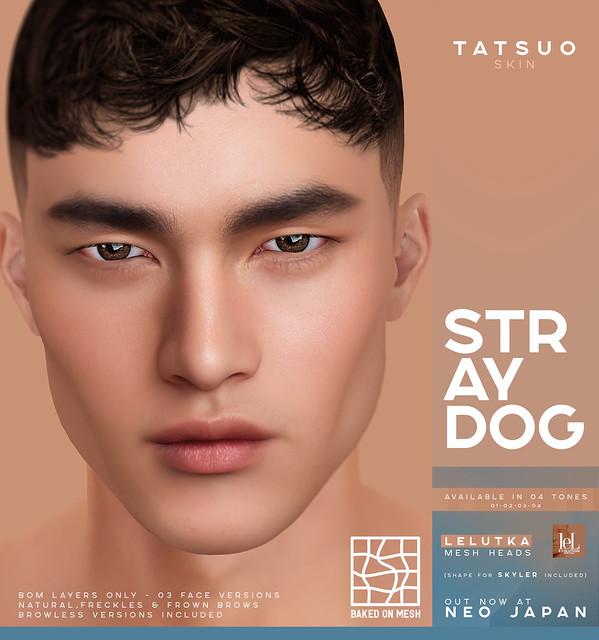 Stray Dog Tatsuo Skin - NEO JAPAN