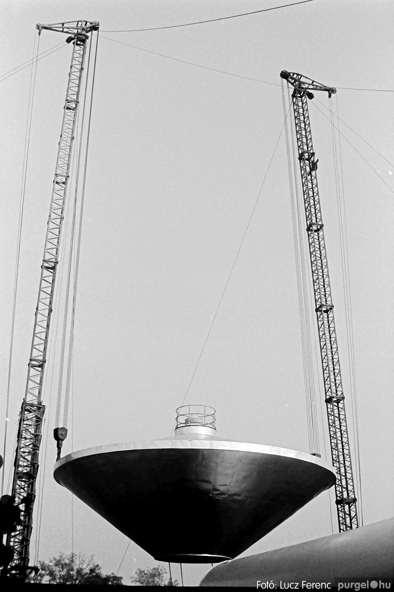 122A. 1978. Épül a víztorony 018. - Fotó: Lucz Ferenc.jpg