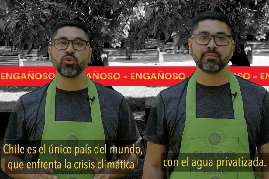 Es engañoso señalar que Chile es el único país del mundo que enfrenta la crisis climática con el agua privatizada