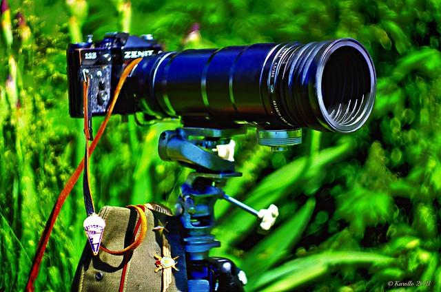 Fotosnaiper-12 / Lens-Tair-3s 300mm/f4.5 /  Zenit-12s