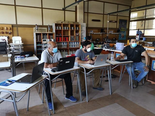 Proyecto CNC Reuter para Especialidad Electrónica
