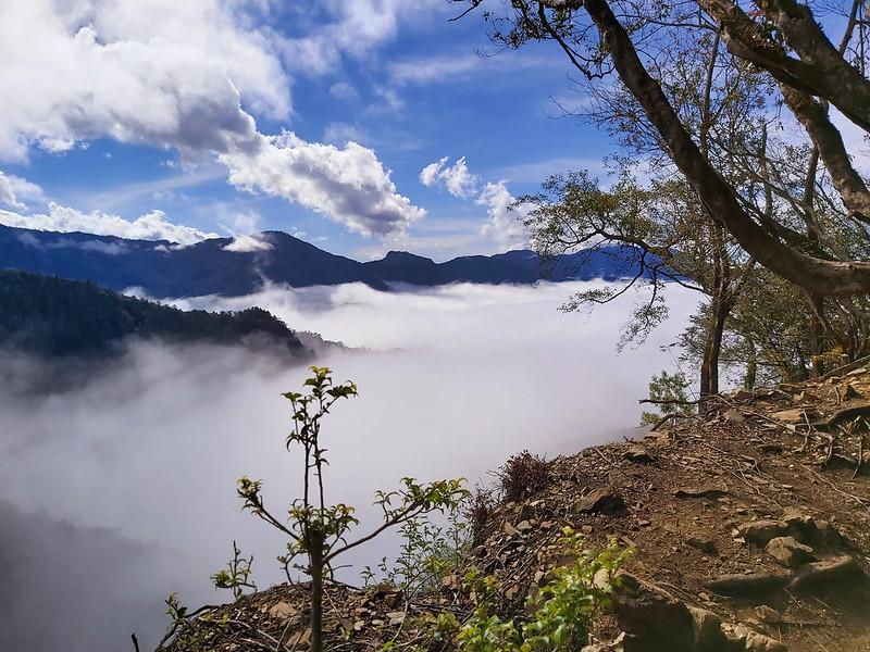 Syarako Historic Trail - sea of clouds