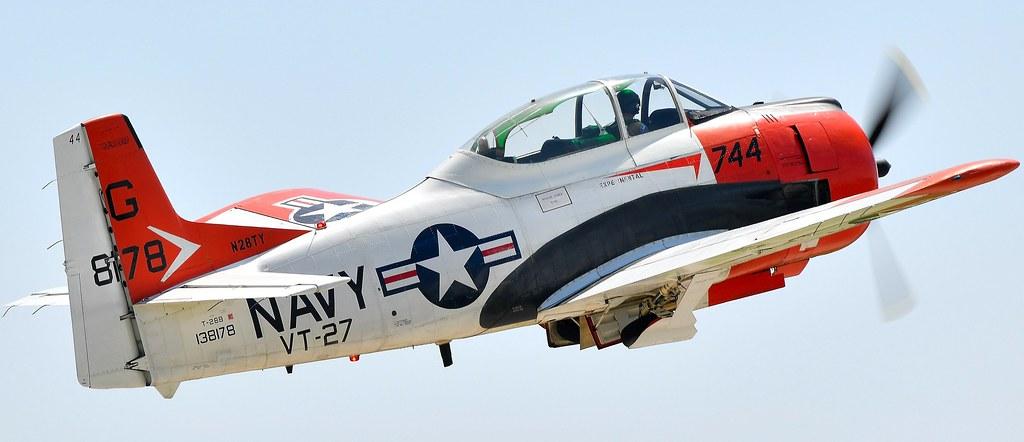 North American T-28B T-28 Trojan N28TY 138178 VT-27 US Navy