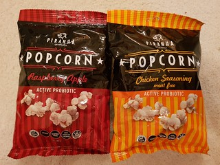 Weird popcorn