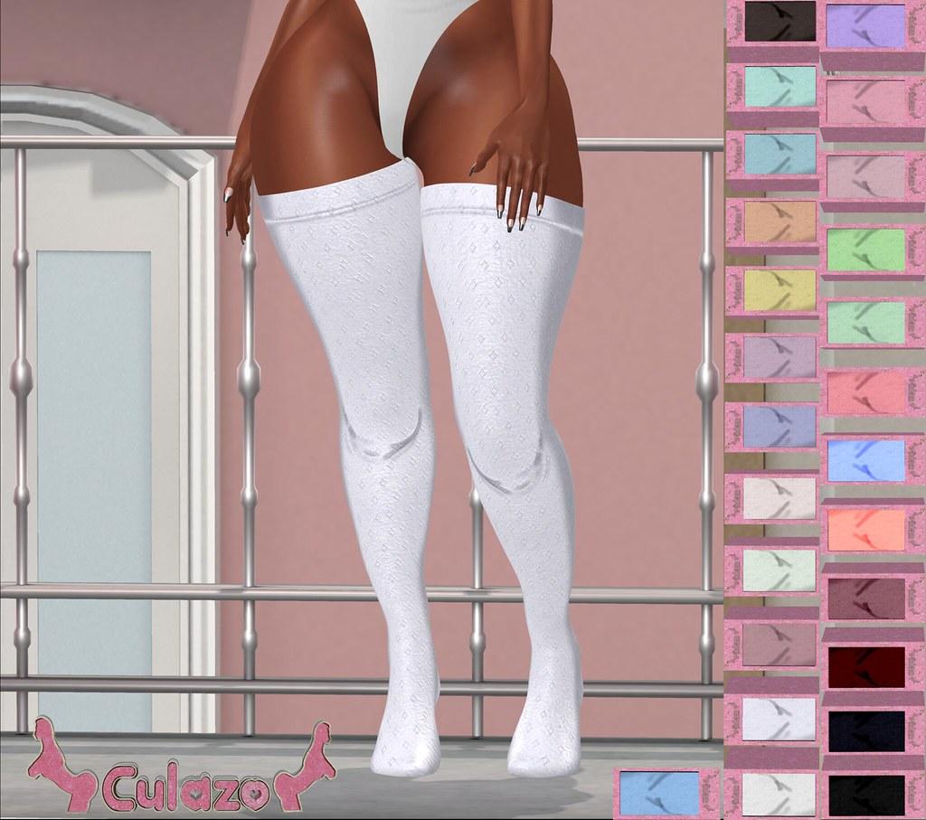 Culazo – Overknees Socks