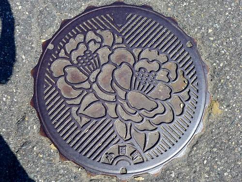 Oguni Nigata, manhole cover (新潟県小国町のマンホール)