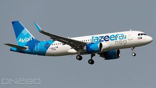 Jazeera A320-251N msn 10366 F-WWIF / 9K-CBG