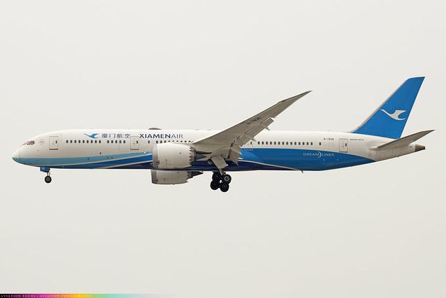B-7836  -  Boeing 787-9 Dreamliner  -  Xiamen Air  -  LHR/EGLL 31/3/21