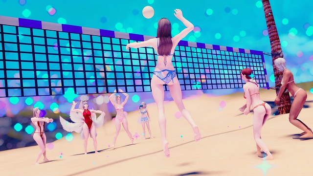 Beach Volleyball!~