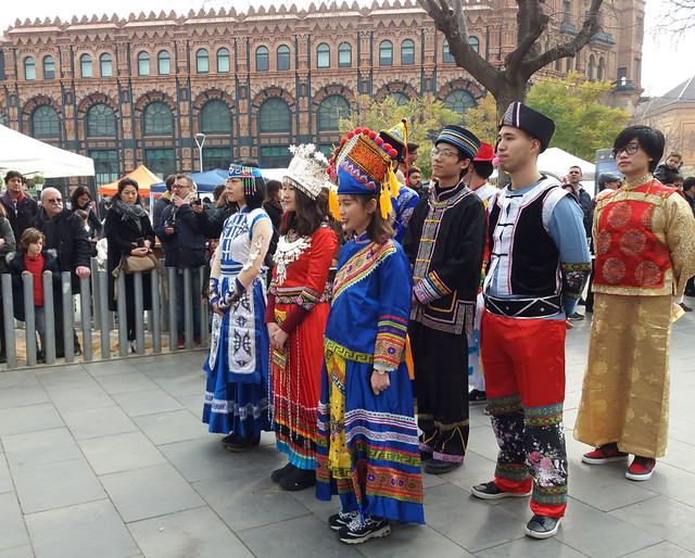 Chinese New Year celebrations In Barcelona, Spain