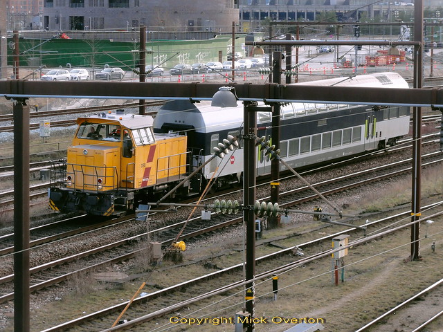 DSB diesel shunter MK625 has spent over 20 years hauling carriages from workshop to sidings south of Copenhagen Central Stations