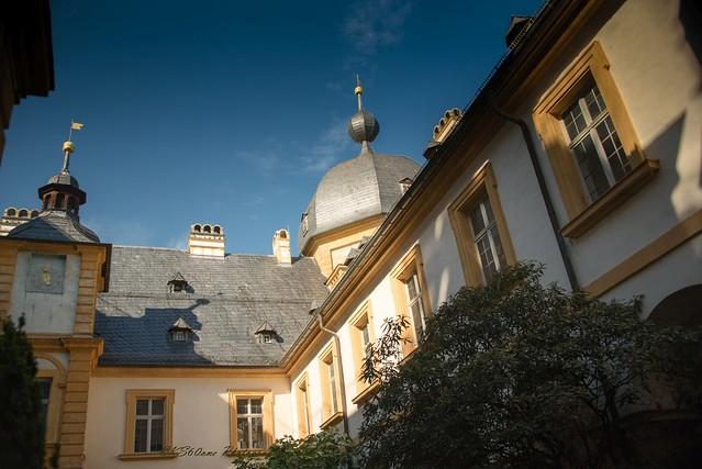Schloss und Schlosspark Seehof in Memmelsdorf bei Bamberg / Upper Franconia / 04.07.2020 / 01008