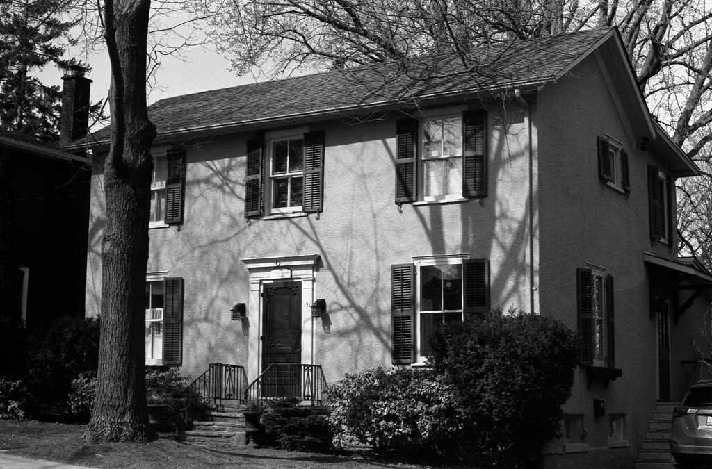 Old Oakville Stucco House