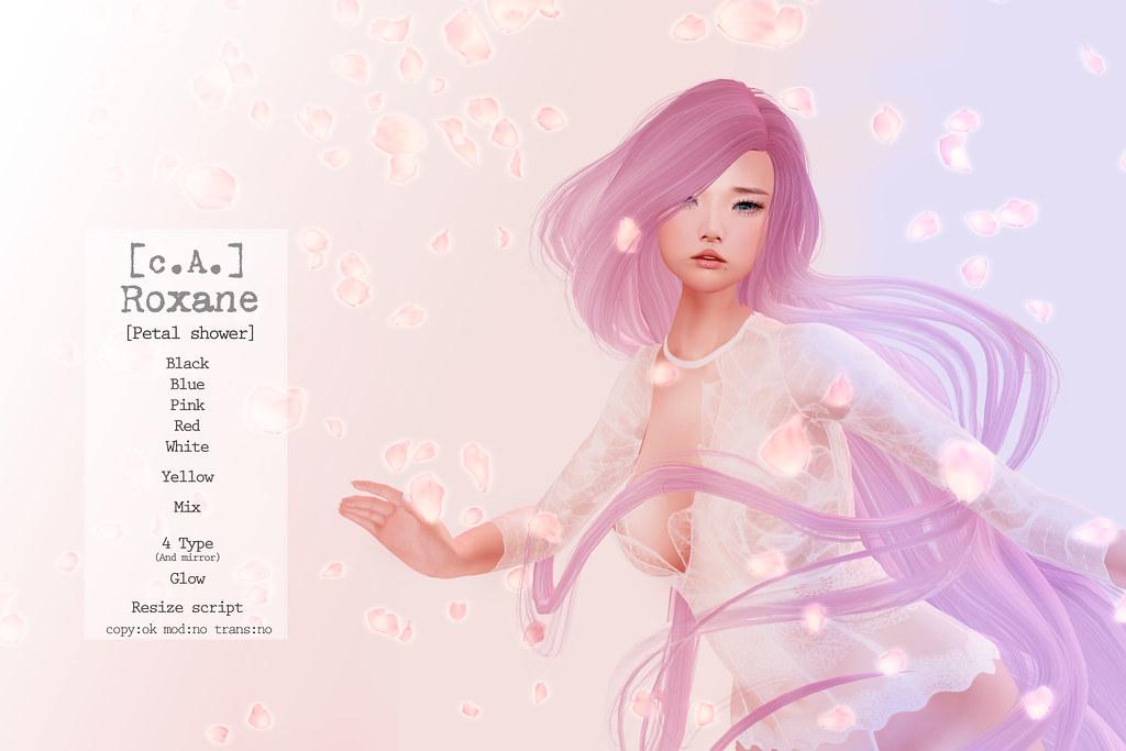 [c.A.] Roxane [Petal shower]