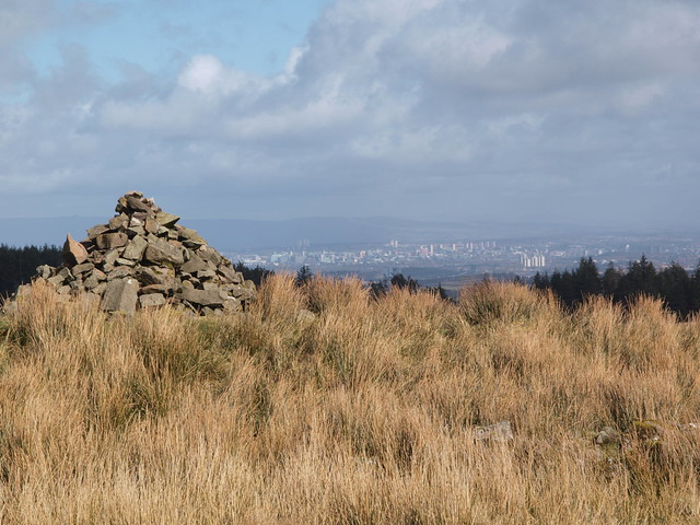 Cairn and city