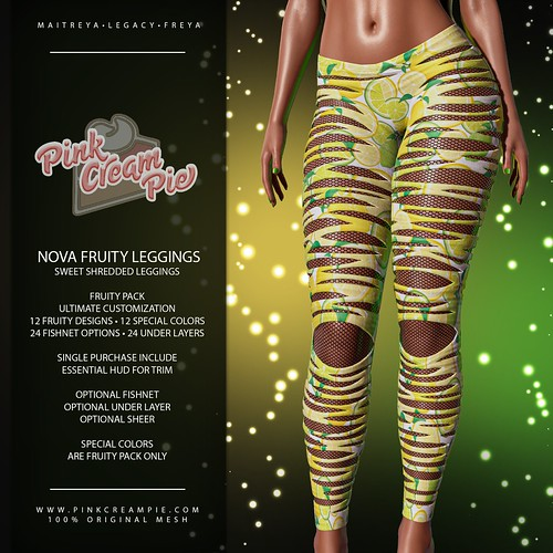 Nova Fruity Leggings | by Pink Cream Pie