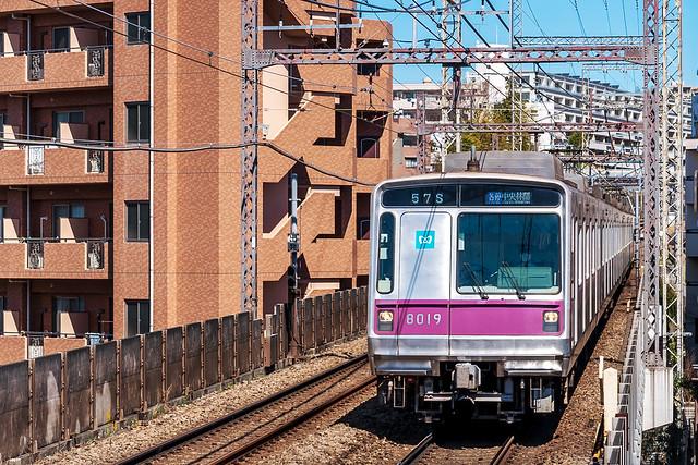 Tokyo Metro 8000 series : 営団8000系電車