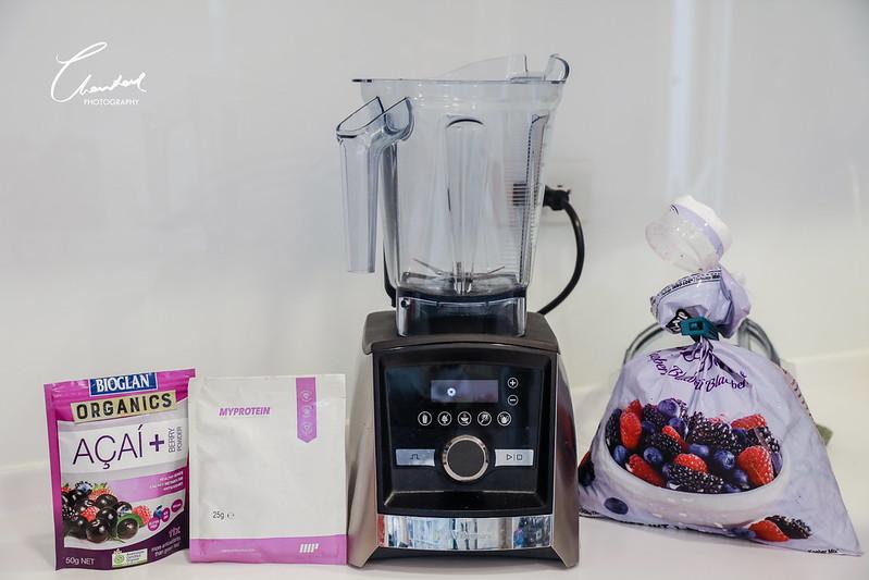 3旅攝日嚐-巴西莓果碗-Vitamix超跑級調理機-A3500i-大侑-果汁機-攪拌機-綠拿鐵-瘦身-減肥-水果-媽咪-健身-健康-陳月卿-名人推薦-隋棠-名模-歐美