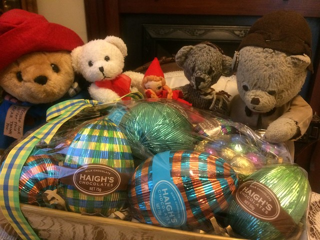 Paddington, Scout and the Easter Hamper