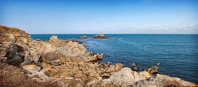 tranquillité sur la côte sauvage