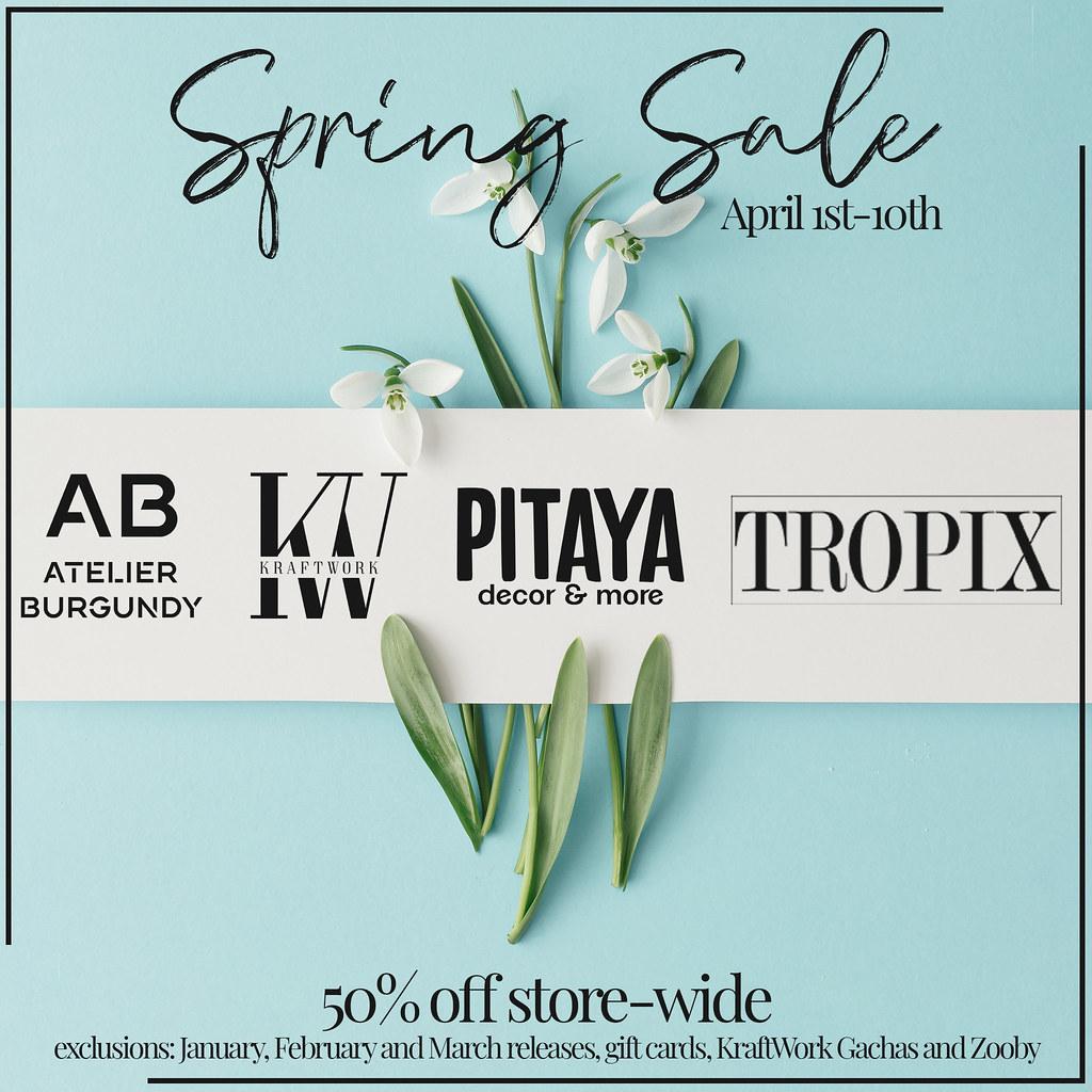 TROPIX // Spring Sale 2021