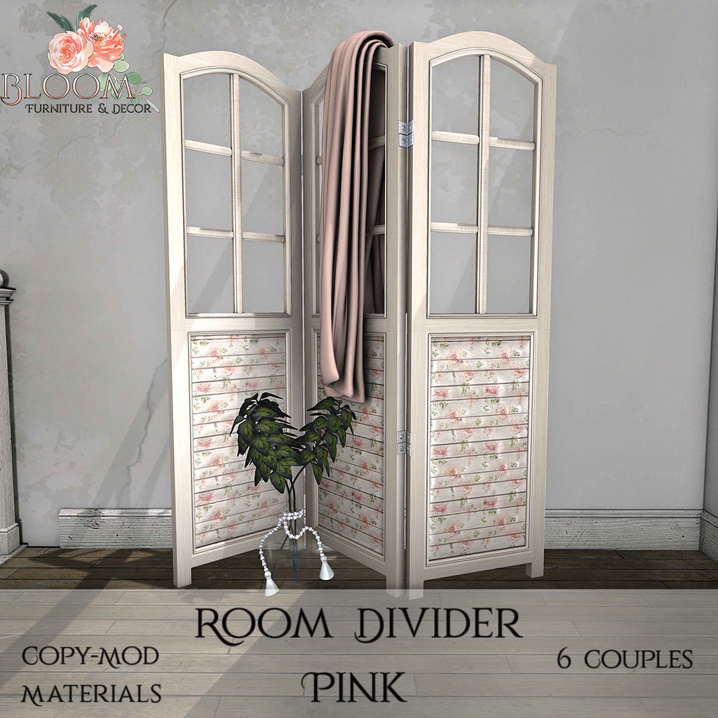 Bloom! – Room Divider PinkAD