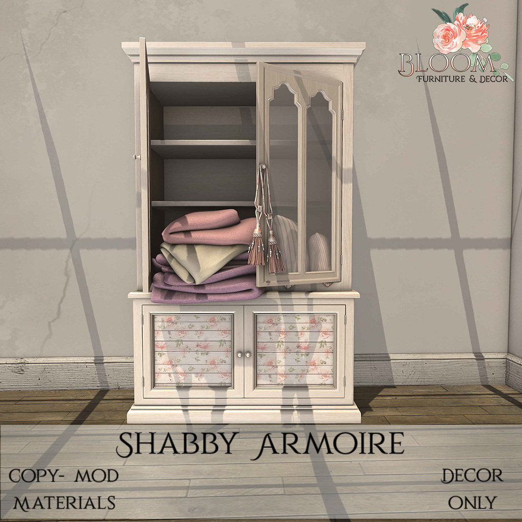 Bloom! – Shabby ArmoireAD