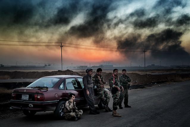 Front line - Iraq 2016