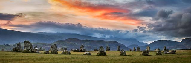 Dawn Skies Over Castlerigg