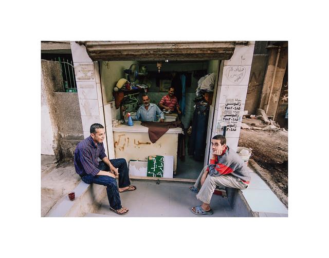 Ironing man, Cairo, Egypt, 2009