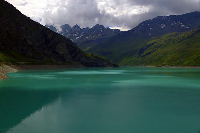 Emerald corner of Switzerland