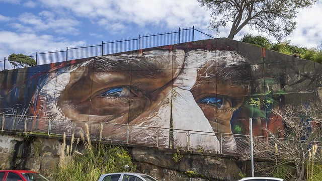 Mural by ADNATE