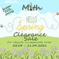 Myth Spring Sale 2021