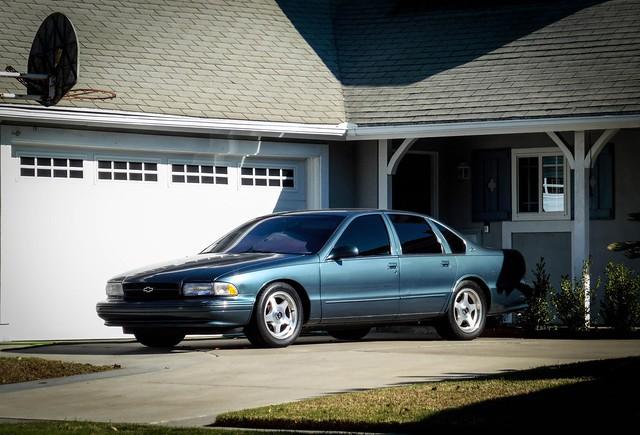 Blue Modern Impala