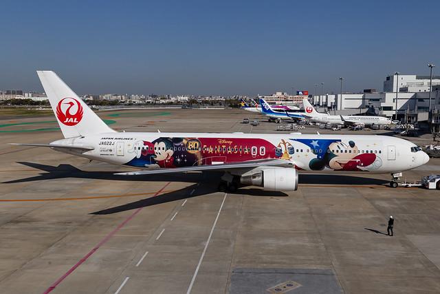 Japan Airlines Boeing 767-346ER (JA622J)